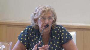 """Carmena denuncia """"bloqueo"""" de la plantilla consistorial"""