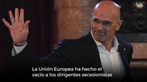 El fracaso de Romeva en la «internacionalización del proceso»