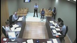 Los urbanos acusados del asesinato de un compañero se acusan el uno al otro