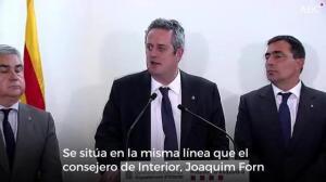 El jefe de los Mossos d'Esquadra en Tarragona apuesta por obedecer a la Generalitat el 1 de octubre