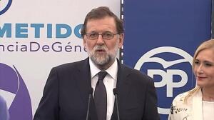 """Rajoy """"contento"""" de haber colaborado con la Justicia"""