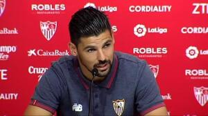 El Sevilla presenta oficialmente a Nolito