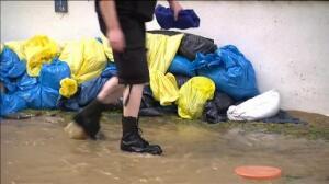 Coches atrapados y casas inundadas por las fuertes lluvias en Alemania