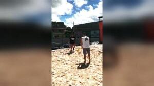 Diego Costa entrena en solitario en Brasil