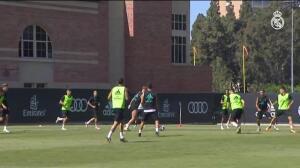 El Real Madrid vuelve al trabajo tras el 4-1 ante el Manchester City