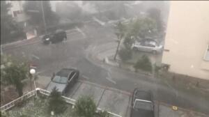 Las lluvias torrenciales azotan Estambul