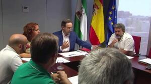 Taxistas de Málaga deciden hoy si mantienen la huelga
