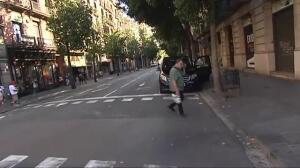 Más imágenes de la Rambla de Barcelona tras el atropello