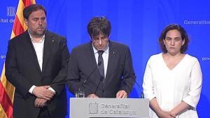 Los líderes nacionales condenan el atentado de Barcelona