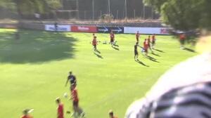 El Atlético de Madrid listo para su primer choque de Liga