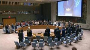 El Consejo de Seguridad de la ONU guarda un minuto de silencio por los atentados de Cataluña