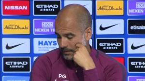 """Pep Guardiola: """"Nuestros pensamientos están con Barcelona"""""""