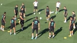 Cristiano Ronaldo y Kovacic, ausentes en el entrenamiento