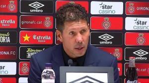 """Simeone:""""La única manera de entrar en el partido era empezar de cero y hacer un gol"""""""