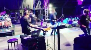 Bustamante disfruta de su concierto en Antequera