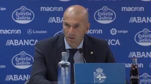 """Zidane: """"Espero que no haya cambios en la plantilla"""""""