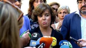 La vicepresidenta felicita a la ciudadanía por su colaboración y solidaridad