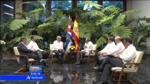 Dastis se reúne con Raúl Castro en La Habana