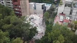 Al menos 150 muertos tras el nuevo terremoto de magnitud 7,1 que sacude México