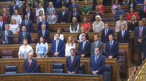 El Congreso guarda un minuto de silencio por las víctimas del terremoto de México