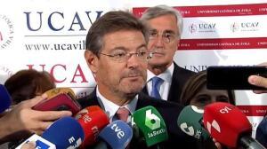 """Rafael Catalá: """"Todos estamos sometidos a la ley"""""""