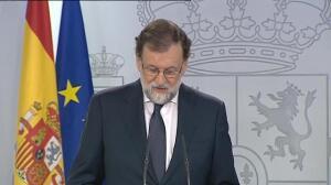 """Rajoy: """"La desobediencia es un acto totalitario y el referéndum vulnera la ley"""""""