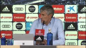 """Zidane pide """"tranquilidad"""" tras la derrota de anoche ante el Betis en el Bernabéu"""
