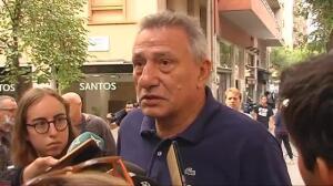 """""""Perplejo"""" tras la detención ayer de su mujer por el 1-O"""