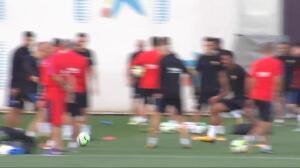 El Barça prepara su primer partido ante el Girona