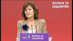 PSOE rechaza la proposición de Pablo Iglesias