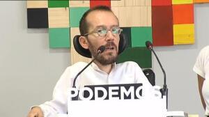 """Echenique: """"20 minutos después de la llamada de Iglesias a Rajoy la concentración de ultras y violentos se disuelve"""""""