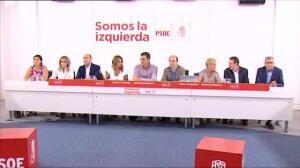 Los alcaldes del PSOE aprueban una declaración de apoyo a los regidores catalanes