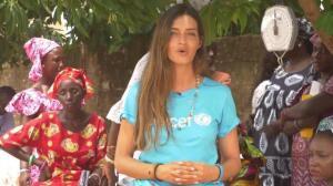 Sara Carbonero, conmovida por la labor de Unicef