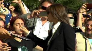 Mónica Bellucci recibe esta noche el premio Donostia en el Zinemaldia