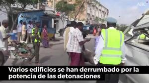 El peor atentado de la historia de Somalia deja más de 200 muertos