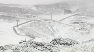 Sierra Nevada se cumbre de blanco
