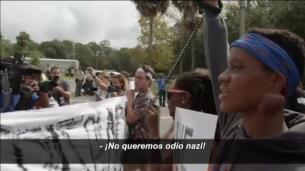 Boicot de los estudiantes al acto del neonazi Richard Spencer en la Universidad de Florida