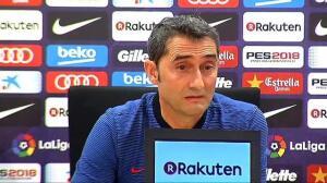 """Valverde: """"Le pongo un 10 al equipo"""""""