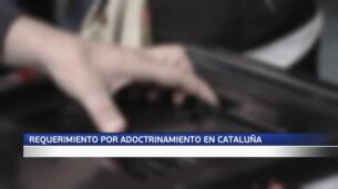 Tercer aviso del Gobierno contra el adoctrinamiento en Cataluña