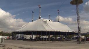 El Circo del Sol levanta su carpa en España para presentar 'Totem'