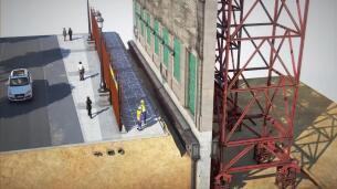 Así es la compleja obra de ingeniería del futuro Centro Canalejas