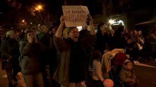 Manifestaciones en solidaridad con la víctima de los presuntos violadores de La Manada
