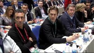La delegación española de fútbol ya está en Moscú