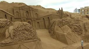 Canarias acoge el mayor Belén de arena de Europa