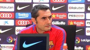 """Valverde sobre la posible salida de Mascherano: """"Queremos reforzarnos, no debilitarnos"""""""