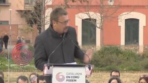 """Domènech dice que constitucionalistas sólo apuestan por la """"represión"""""""