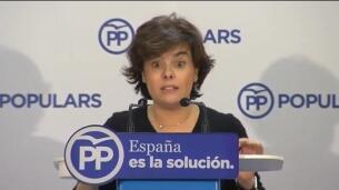 Santamaría sobre independentistas:
