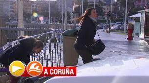 Galicia, en alerta naranja por fenómenos costeros y viento