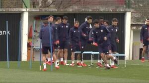 El Athletic prepara el próximo compromiso liguero todavía sin Kepa