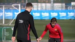 El Barça vuelve al trabajo para preparar su encuentro con el Betis